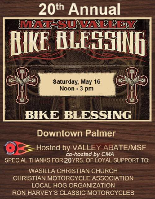 bike blessing and gathering